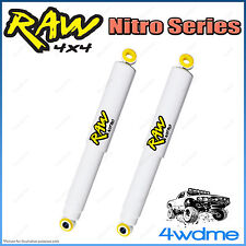 """Holden Colorado RA RC 4WD RAW Rear Nitro Gas Shock Absorbers 2"""" 0-50mm Lift"""