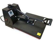"Heat Press Transfer T Shirt Sublimation Machine Digital Clamshell 15"" x 15""  NEW"