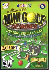 Ultimate Mini Golf Designer w/ Mini Golf Master 2 (PC, 2004) Free USA Shipping!