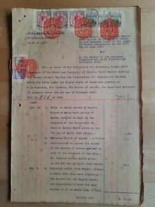 Singapore document 3x $25 revenues 1949 fiscal