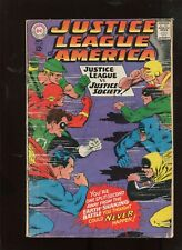 JUSTICE LEAGUE OF AMERICA #56 (3.5) JUSTICE LEAGUE VS. JUSTICE SOCIETY!