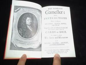 Compleat Gamester playing cards bowls chess dice billiards etc Cotton 1674