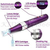 Dr.Pen X5 Electric Auto Derma Pen Anti-Aging Stamp Skin Care +2 Needles Device