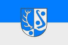 Aufkleber Bodenfelde Flagge Fahne 30 x 20 cm Autoaufkleber Sticker