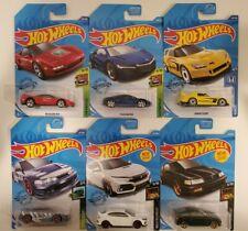 Hot Wheels Honda Acura Lot Of 6 CRX INTEGRA NSX S2000 CIVIC TYPE R 1/64 NEW #244