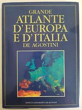 GRANDE ATLANTE D'EUROPA E D'ITALIA - ISTITUTO GEOGRAFICO DE AGOSTINI 1994