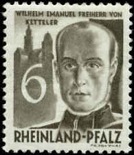 Germany Scott #6N33 Mint  Rhine Palatinate Occupation