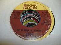 HEAR! Modern Soul Boogie Promo 45 COLORS Get On Down To the Music on Becket (Pro