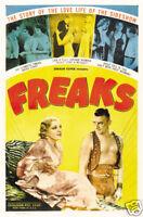 "Freaks Frances Belle O/'Connor Armless Girl Poster Print 8.5 x 11/"""