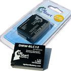 2x New Battery for Panasonic DMW-BLC12 dmc-gh2 Blc12