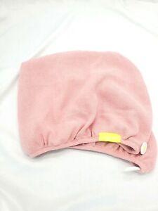 Aquis Original Towel Super Absorbent Hair Turban Pink Microfiber