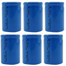 6 Stk. 4/5 Sub C 1600mah 1.2v Ni-Cd Wiederaufladbare Batterie Zelle Flat-Top