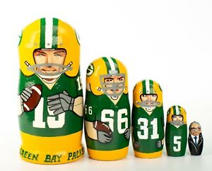 Green Bay Packers NFL Nesting Dolls