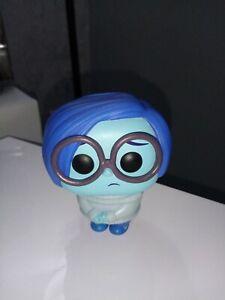 Pop Funko Action Figure Disney Pixar Inside Out Sadness Vaulted Used Rare movie