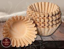 1000 Korbfilter Kaffeefilter Filterkörbchen Braun