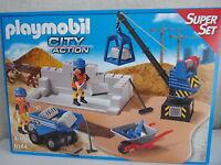 Playmobil City Action Super Set 6144 Baustelle - Neu & OVP
