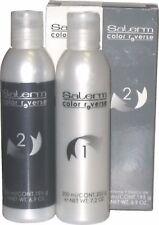 Salerm Color Reverse Pack 2 bottles 7.2 Oz. & 6.9 Oz. -Removes hair dyes