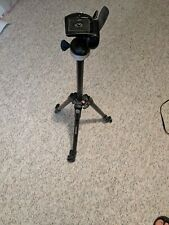 MANFROTTO 190XDB WITH 390RC2 3-WAY PAN/TILT HEAD