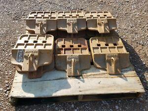(7) John Deere/Black Cat 944K wheel loader cutting edges part# T1099080