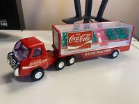 AMAZING ESTATE FIND!! COCA COLA Buddy L Semi Tractor Trailer 70s Pressed Steel
