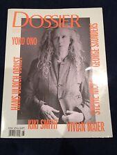 Dossier Issue 8 2011 YOKO ONO, Stevie Nicks, George Saunders, KIKI Smith