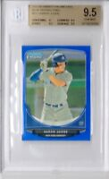 BGS 9.5 AARON JUDGE 2013 Bowman Chrome Mini BLUE REFRACTOR RC #/99 GEM MINT