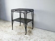 1930's French vintage trolley / side table