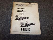1988 International S-Series 3700 3800 3990 4000 Truck Electrical Circuit Diagram
