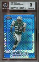 2006 finest blue xfractors #117 LEON WASHINGTON rookie BGS 9 (9.5 9 9.5 8.5)