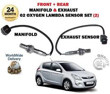 Per Hyundai i20 G4LA 1.2 2009> Nuovo 2 x Pre Post Cat 02 Ossigeno Lambda Ssensor