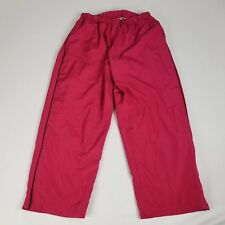 Kim Rogers Womens Pants Size 1X Red Activewear Lined Walking Jogging