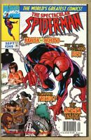 Spectacular Spider-Man #249-1997 nm- 9.2 Newsstand Variant cover SpiderMan