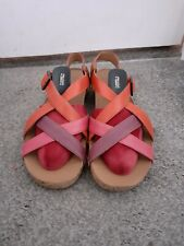CLARKS SANDALS SIZE 6 39 WORN ONCE ONLY EXCELLENT CONDITION