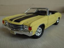 1/18 MAISTO 1970 CHEVROLET CHEVELLE SS 454 MODEL TIN
