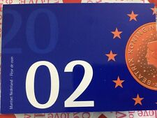 MUNTSET NEDERLAND 2002 - FLEUR DE COIN