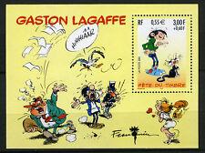 BD - GASTON LAGAFFE. Bloc feuillet Y&T n° BF34. cote 2,80€