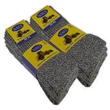 6 Paio Premium Calzini da Lavoro Naft Calzini da Uomo Cotone Senza Gomma Stampa