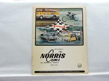 1973 Norris Motorcycle Drag Racing Parts & Accessories Catalog B9322