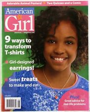 AMERICAN GIRL Magazine 9 Ways to Transform T-Shirts Adorable Animal POSTERS