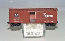 "N Scale Kadee Micro-Trains 20040 ATSF ""El Capitan"" 40' Standard Steel Boxcar"