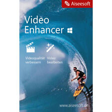 Video Enhancer Aiseesoft WIN dt.Vollver. 1 Jahr Lizenz Download 12,99 statt 21,-