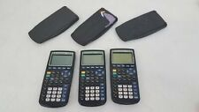 Texas Instruments Ti-83 Graphing Calculators 3x Lot