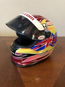 Dan Wheldon Mini Helmet Target / Honda Rare Indycar IMS Indy 500