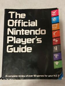 The Official Nintendo Players Guide - Vintage 1987 Nintendo