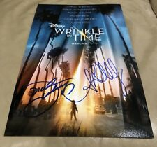 Oprah Winfrey And Ava DuVernay Signed A Wrinkle In Time 11x17 Photo