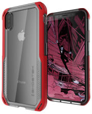 For iPhone X XS Case | Ghostek CLOAK4 Slim Clear Hybrid TPU Shockproof Cover
