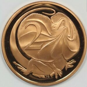 1980 2 cent proof coin