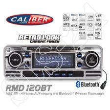 Caliber RMD120BT Bluetooth Autoradio USB SD Retro Design Radio Oldtimer Chrome