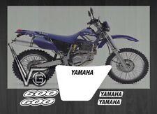 Adesivi Grafiche Stickers Decal Yamaha TT 600 RE  TT re 2003 TTre