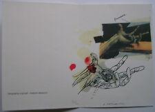 VELICKOVIC  - Carte de Voeux SERIGRAPHIE 2006 SIGNED